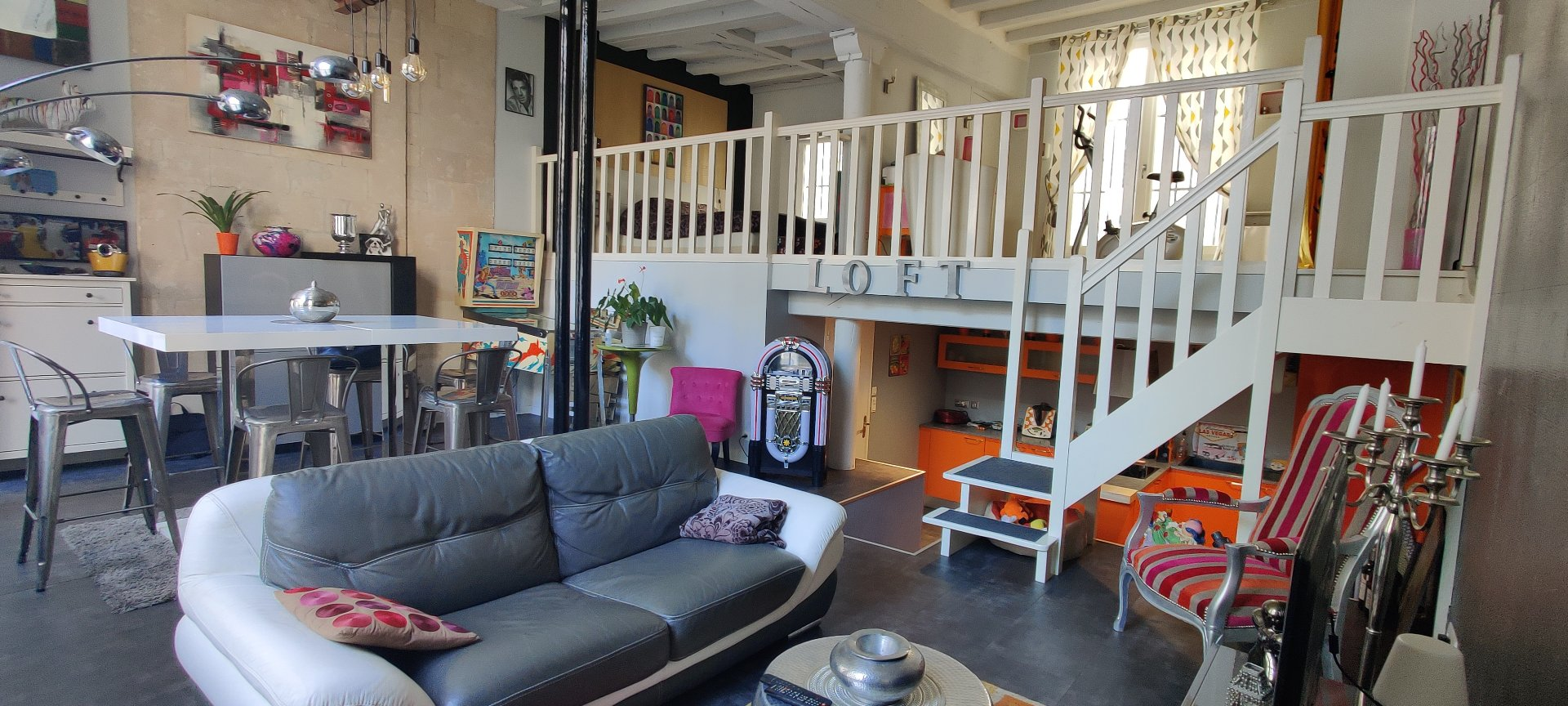 Appartement esprit loft - Secteur Halles